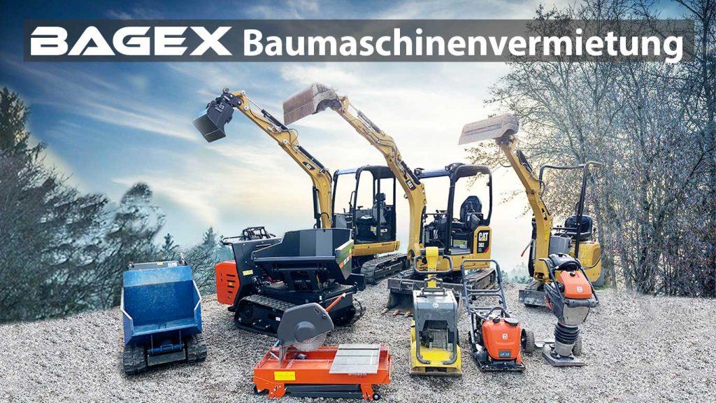 BAGEX Baumaschinenvermietung